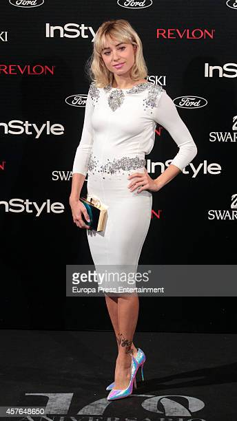 Miranda Makaroff attends the InStyle Magazine 10th anniversary party on October 21 2014 in Madrid Spain