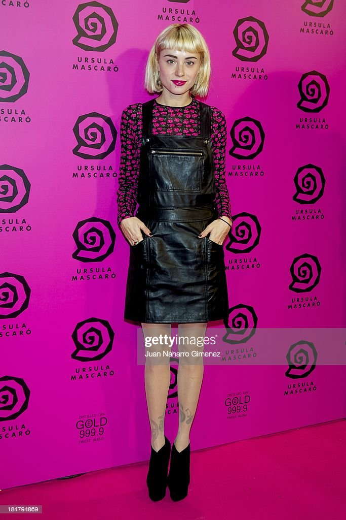Miranda Makaroff attends Ursula Mascaro opening store at Ursula Mascaro store on October 16, 2013 in Madrid, Spain.