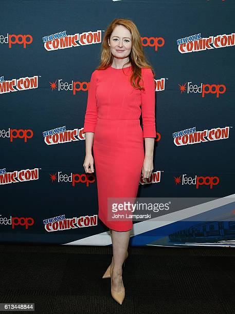 Miranda Otto attends '24 Legacy' press conference during the 2016 New York Comic Con day 3 on October 8 2016 in New York City