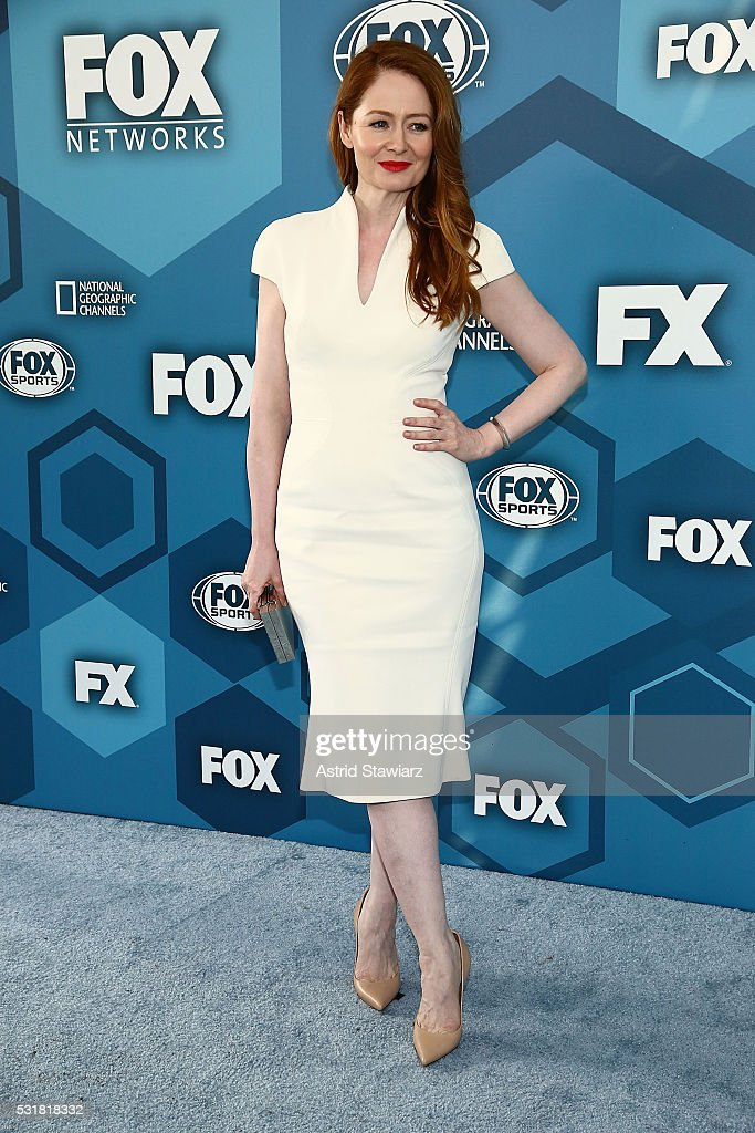 Miranda Otto attends FOX 2016 Upfront Arrivals at Wollman Rink, Central Park on May 16, 2016 in New York City.