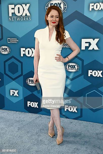 Miranda Otto attends FOX 2016 Upfront Arrivals at Wollman Rink Central Park on May 16 2016 in New York City