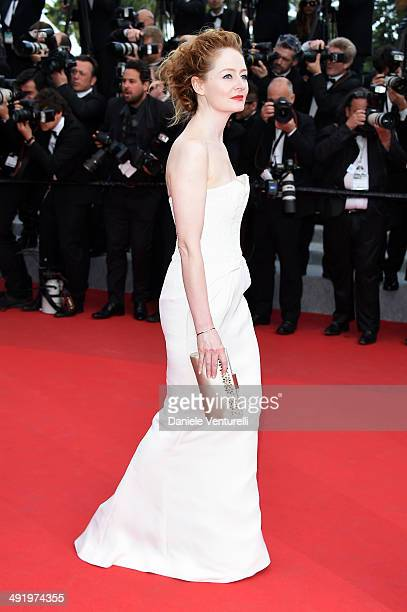 Miranda Otto attends 'The Homesman' Premiere at the 67th Annual Cannes Film Festival on May 18 2014 in Cannes France