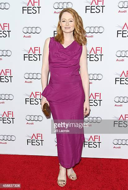 Miranda Otto attends the 'The Homesman' Premiere during AFI FEST 2014 presented by Audi at the Dolby Theater on November 11 2014 in Hollywood...