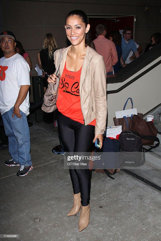 Miranda Rae Mayo is seen on July 18, 2013 in Los Angeles, California.