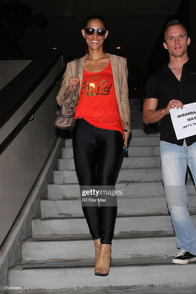Miranda Rae Mayo is seen on July 18, 2013 in Los Angeles, California.