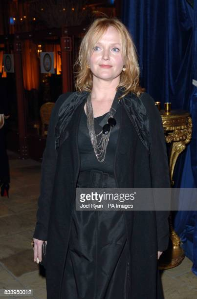 Miranda Richardson at the Golden Compass World Premiere afterparty at the Tobacco Docks in London
