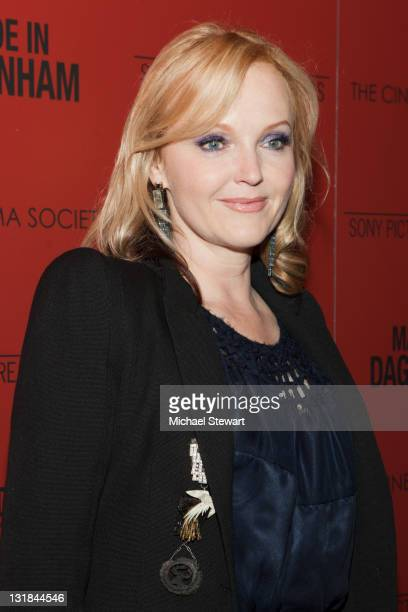 Miranda Richardson attends the Cinema Society and Sony Pictures Classics screening of 'Made In Dagenham' at the Tribeca Grand Hotel on November 14...