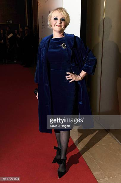 Miranda Richardson attends The London Critics' Circle Film Awards at The Mayfair Hotel on January 18 2015 in London England