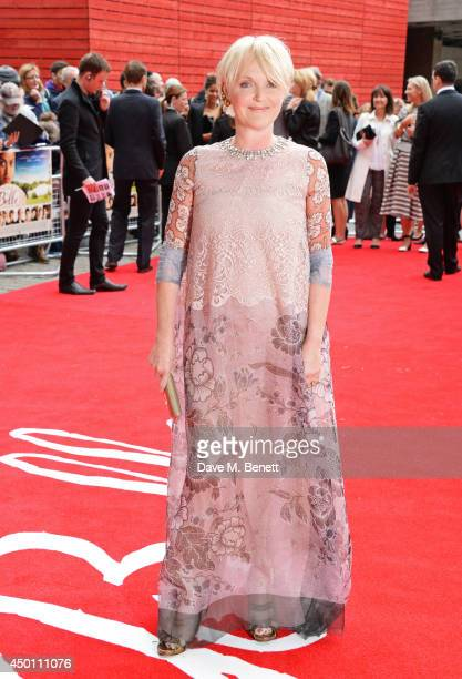 Miranda Richardson attends the UK Premiere of 'Belle' at BFI Southbank on June 5 2014 in London England