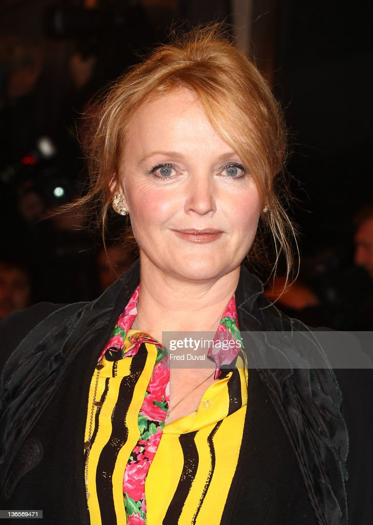 Miranda Richardson attends the UK premiere of War Horse at Odeon Leicester Square on January 8, 2012 in London, England.