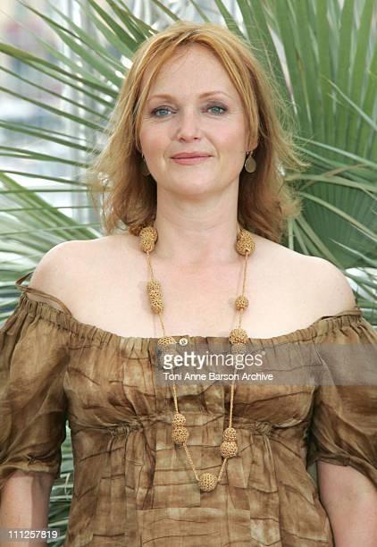 Miranda Richardson during 2006 Cannes Film Festival 'Paris Je T'Aime' Photo Call at Palais du Festival in Cannes France