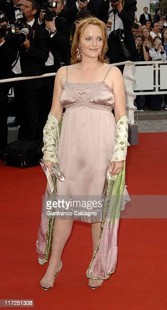 Miranda Richardson during 2006 Cannes Film Festival Paris Je t'aime Premiere at Grand Theatre Lumiere in Cannes France