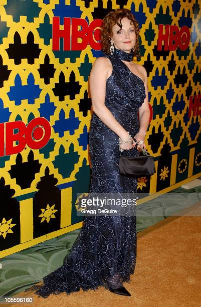 Miranda Richardson during HBO Post Award Reception Celebrating The 62nd Annual Golden Globe Awards Arrivals at Griff's Restaurant in Beverly Hills...