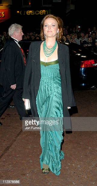 Miranda Richardson during 'The Phantom of the Opera' London Premiere Arrivals at Odeon Leicester Square in London England Great Britain