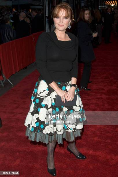 Miranda Richardson during Warner Bros' Harry Potter and the Goblet of Fire New York City Premiere Arrivals at Ziegfeld Theater in New York City New...