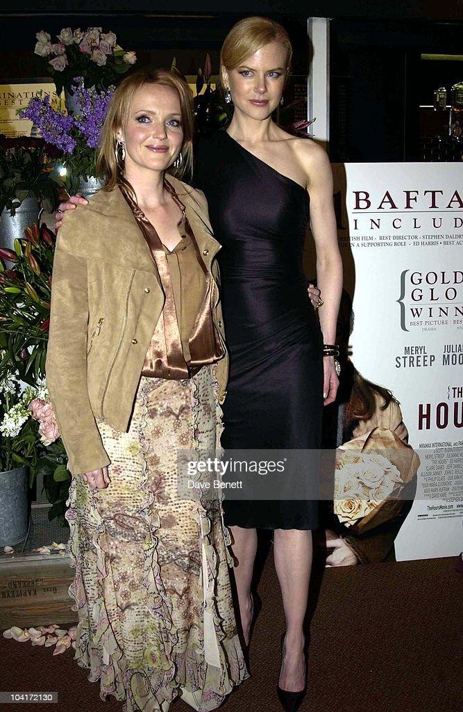 Miranda Richardson & Nicole Kidman, 'The Hours' Uk Charity Movie Premiere Held At The Chelsea Cinema In London.