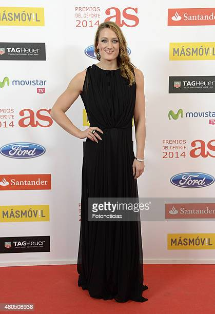 Mireia Belmonte attend the 2014 AS Sports Awards at The Westin Palace Hotel on December 15 2014 in Madrid Spain