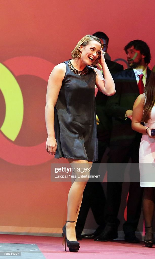 <a gi-track='captionPersonalityLinkClicked' href=/galleries/search?phrase=Mireia+Belmonte&family=editorial&specificpeople=5120453 ng-click='$event.stopPropagation()'>Mireia Belmonte</a> attends Spanish Olympic Commitee Centenary Gala at El Canal Theatre on December 12, 2012 in Madrid, Spain.
