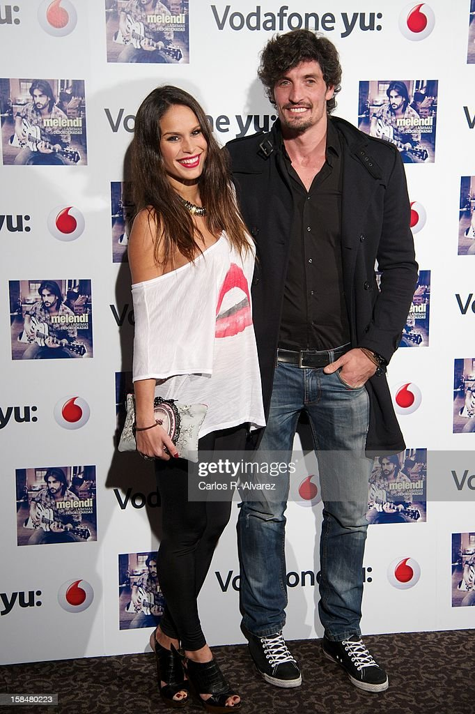 <a gi-track='captionPersonalityLinkClicked' href=/galleries/search?phrase=Mireia+Canalda&family=editorial&specificpeople=4356463 ng-click='$event.stopPropagation()'>Mireia Canalda</a> and Felipe Lopez attend the Melendi concert at La Riviera Club on December 17, 2012 in Madrid, Spain.