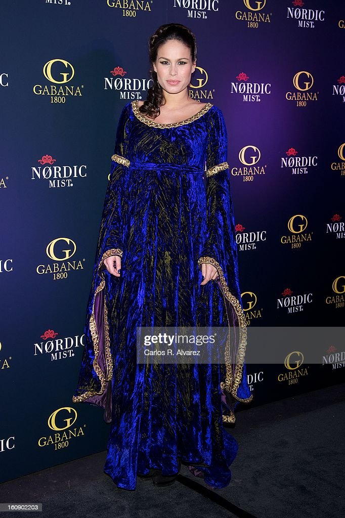 Mireia Canalda attends 'Carnaval 2013' party at Gabana Club on February 7, 2013 in Madrid, Spain.