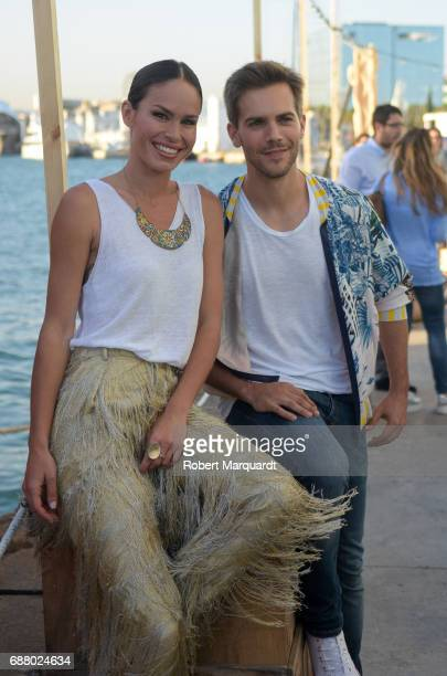 Mireia Canalda Marc Clotet attend the 'San Miguel 60th Anniversary' party held at the Nautic Center on May 24 2017 in Barcelona Spain