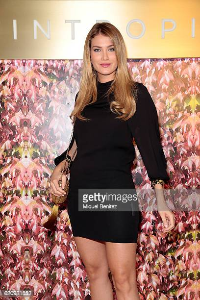 Mireia Lalaguna attends the Intropia Collection presentation on November 3 2016 in Barcelona Spain