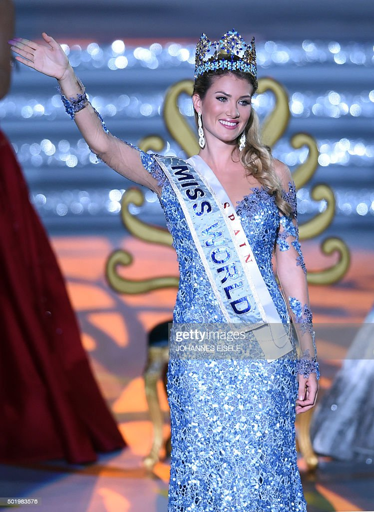 Mireia Lalaguna - The Official Thread of Miss World 2015 @ Mireia Lalaguna - Spain  Mireia-lalaguna-rozo-of-spain-waves-after-winning-the-new-title-at-picture-id501983576