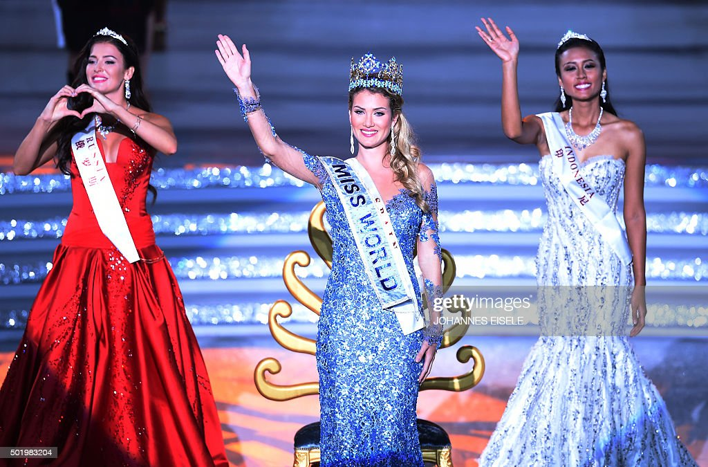The Official Thread of Miss World 2015 @ Mireia Lalaguna - Spain  Mireia-lalaguna-rozo-of-spain-waves-after-winning-the-new-title-at-picture-id501983204
