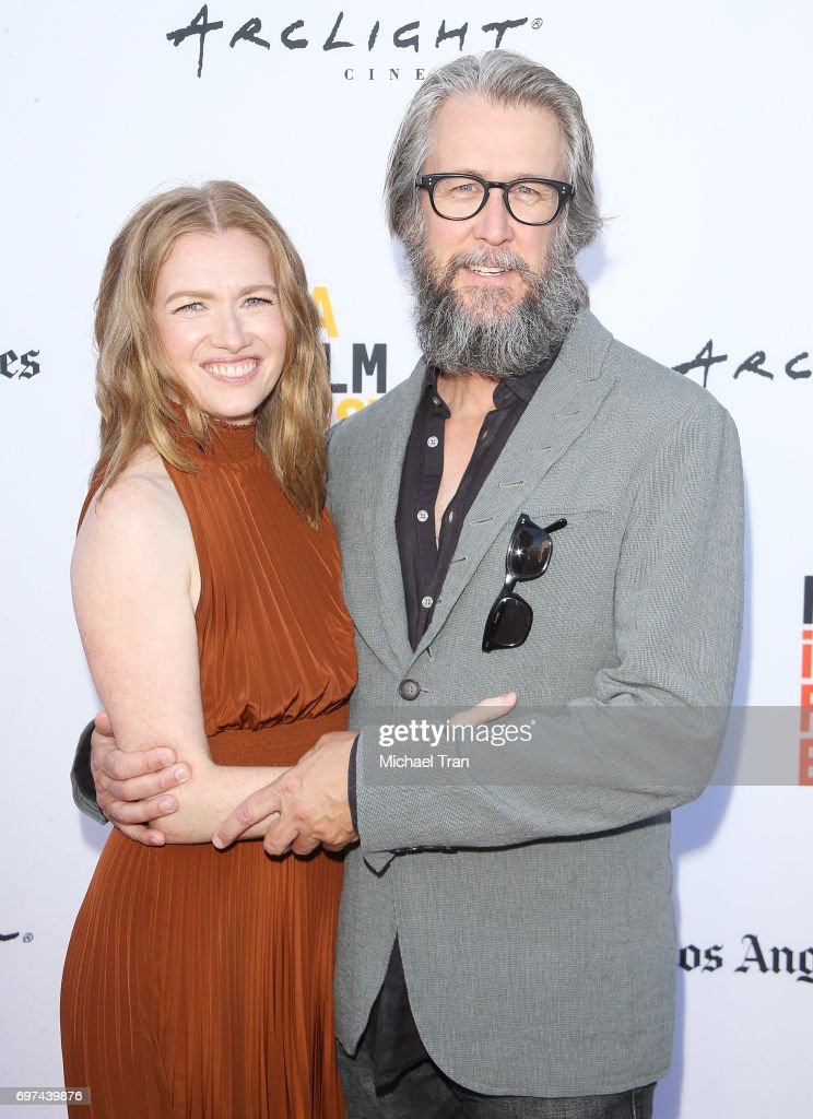 Mireille Enos and Alan Ruck attend the 2017 Los Angeles Film Festival - premiere of 'Never Here' held at Arclight Cinemas Culver City on June 18, 2017 in Culver City, California.