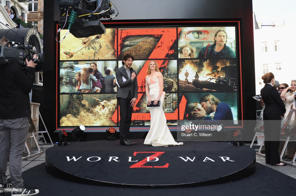 <a gi-track='captionPersonalityLinkClicked' href=/galleries/search?phrase=Mireille+Enos&family=editorial&specificpeople=784800 ng-click='$event.stopPropagation()'>Mireille Enos</a> attends the World Premiere of 'World War Z' at The Empire Cinema on June 2, 2013 in London, England.