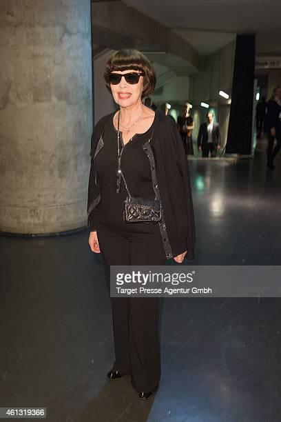 Mireille Mathieu attends the 'Das grosse Fest der Besten' tv show at Velodrom on January 10 2015 in Berlin Germany