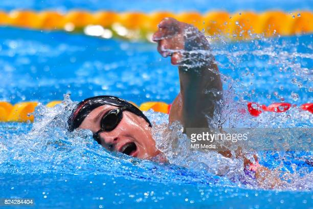 Mirela Belmonte during the Budapest 2017 FINA World Championships on July 28 2017 in Budapest Hungary