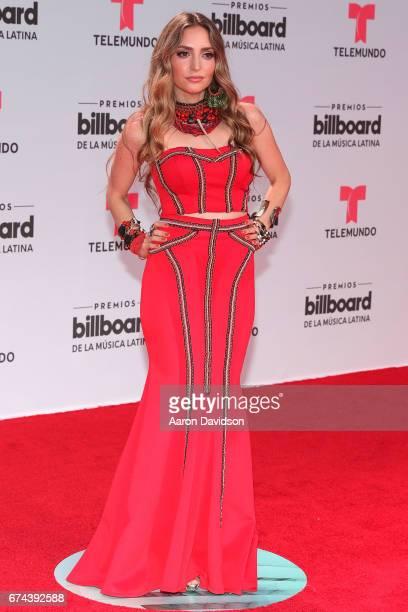 Mirella Cesa attends Billboard Latin Music Awards Arrivals at Watsco Center on April 27 2017 in Coral Gables Florida