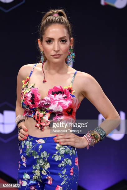 Mirella Cesa attends the Univision's 'Premios Juventud' 2017 Celebrates The Hottest Musical Artists And Young Latinos ChangeMakers at Watsco Center...