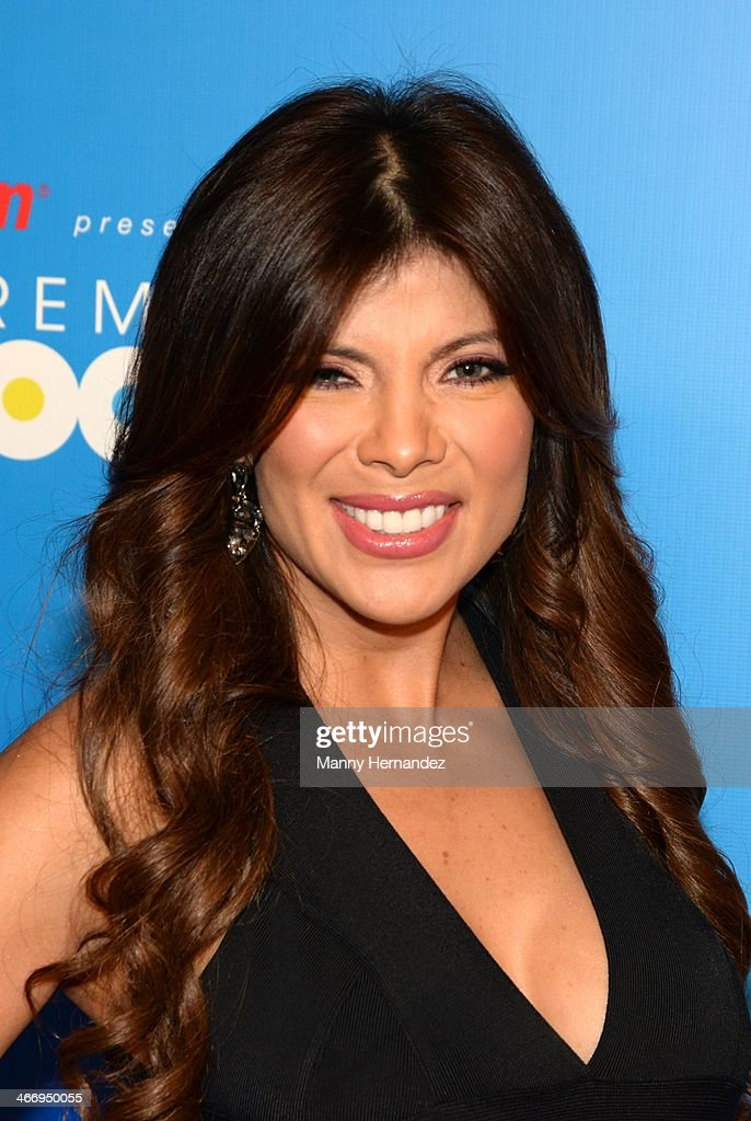 Mirella Grisales attends 2014 Billboard Latin Music Awards Press Conference to announce nominations at Gibson Miami Showroom on February 5, 2014 in Miami, Florida.