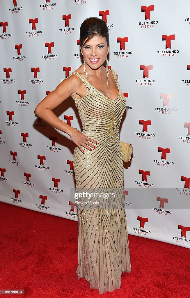 Mirella Grisales attends the 2013 Telemundo Upfront at Frederick P. Rose Hall, Jazz at Lincoln Center on May 14, 2013 in New York City.