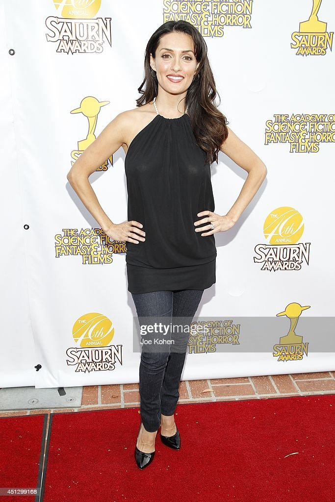 Mirelly Taylor attends the 40th Annual Saturn Awards at The Castaway on June 26, 2014 in Burbank, California.
