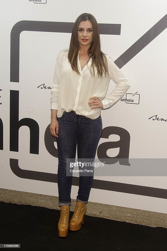 Miren Ibanguren attends 'Bendita locura' new collection party photocall at Villamagna hotel on June 11, 2013 in Madrid, Spain.