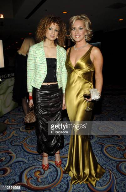 Miri BenAri and Jamie Colby during American Women in Radio Television 30th Annual Gracie Allen Awards Inside at New York Marriot Marquis Hotel in New...