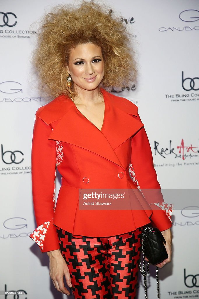 Miri Ben-Ari attends the ROCK ART LOVE at The Angel Orensanz Foundation on March 12, 2013 in New York City.