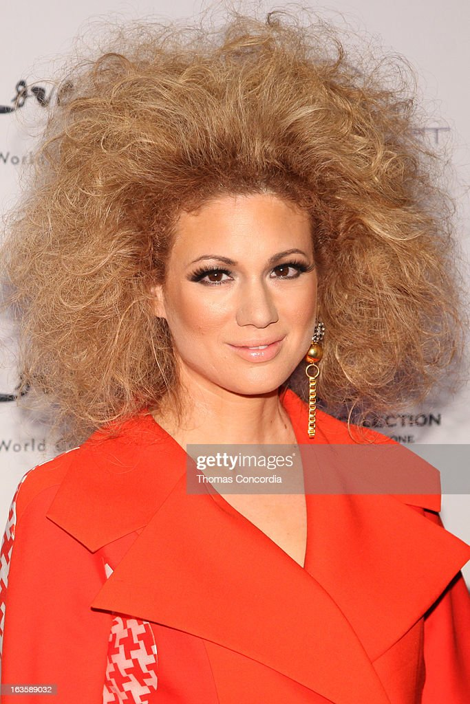 Miri Ben-Ari attends the Rock Art Love Ball on March 12, 2013 in New York City.