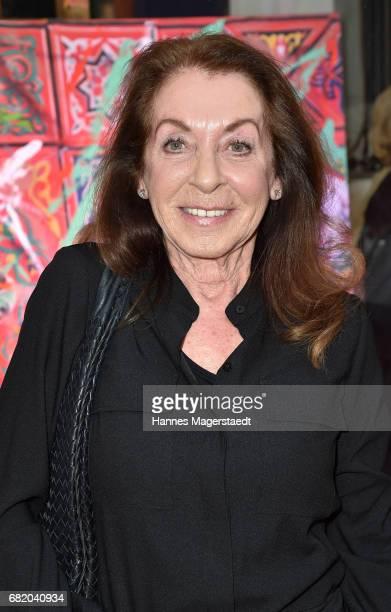 Miriam Avram during 'Maximilian Seitz EinwicklungenImpressionismusFest im Orient' Exhibition Opening at Susanne Wiebe Fashion Store on May 11 2017 in...