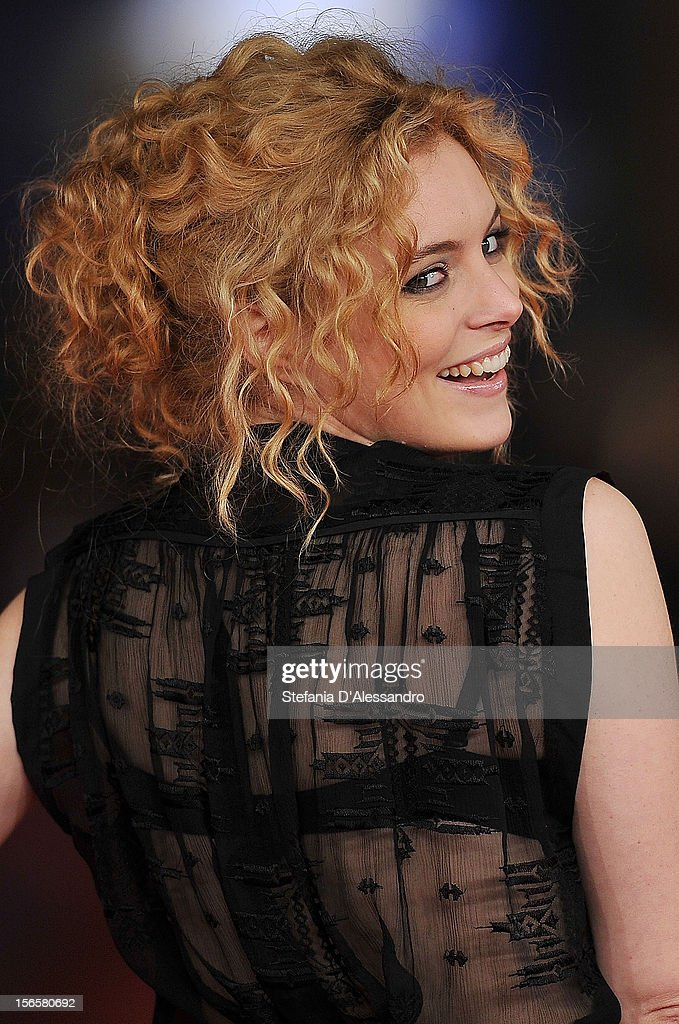 Miriam Dalmazio attends 'Cosimo E Nicole' Premiere during The 7th Rome Film Festival on November 16, 2012 in Rome, Italy.