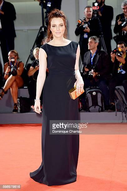 Miriam Dalmazio of the cast of 'Caffe' attends the premiere of 'Brimstone' during the 73rd Venice Film Festival at Sala Grande on September 3 2016 in...