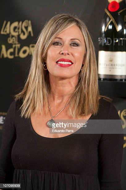 Miriam Diaz Aroca attends 'Moet Chandon Charity Auction' at Casino de Madrid on November 23 2010 in Madrid Spain