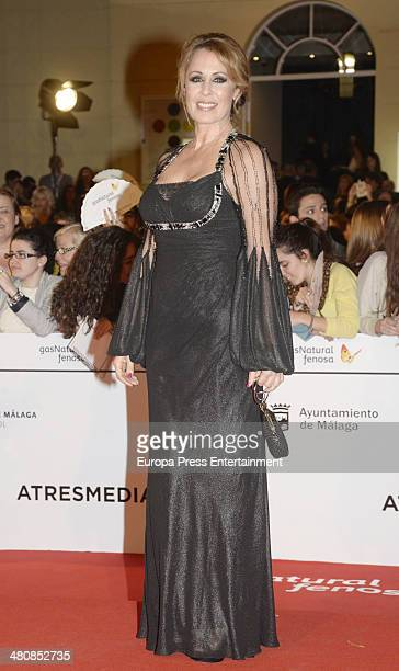 Miriam Diaz Aroca attends the 17th Malaga Film Festival opening ceremony on March 21 2014 in Malaga Spain