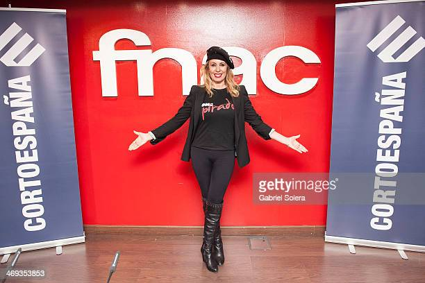 Miriam Diaz Aroca attends the 'Cortoespana' Short Film Festival 2014 at Callao Fnac Forum on February 13 2014 in Madrid Spain