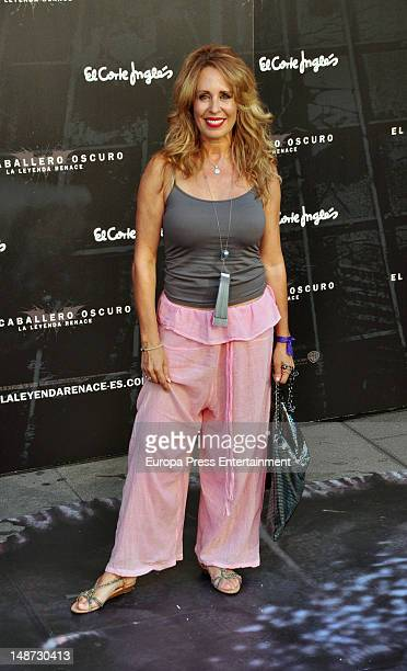 Miriam Diaz Aroca attends 'The Dark Knight Rises' premiere at Callao Cinema on July 18 2012 in Madrid Spain