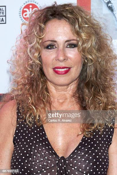Miriam Diaz Aroca attends the 'Madwomenfest' presentation at the Palacio de los Deportes WiZink Center on May 24 2017 in Madrid Spain