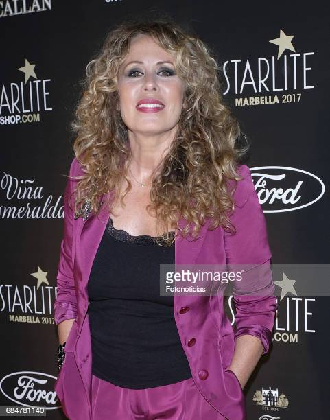 Miriam Diaz Aroca attends the Starlite 2017 presentation party at the Teatro Gran Maestre on May 18 2017 in Madrid Spain